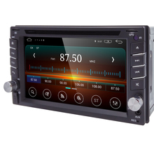 Quad Core Pure Android 5.1 Car Multimedia Player Car PC Tablet Double 2din 6.2'' GPS Navigation Car Stereo Radio Bluetooth
