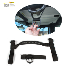 Car SUVS Black Roll Bar Grab Handle Hook Armrest Accessories