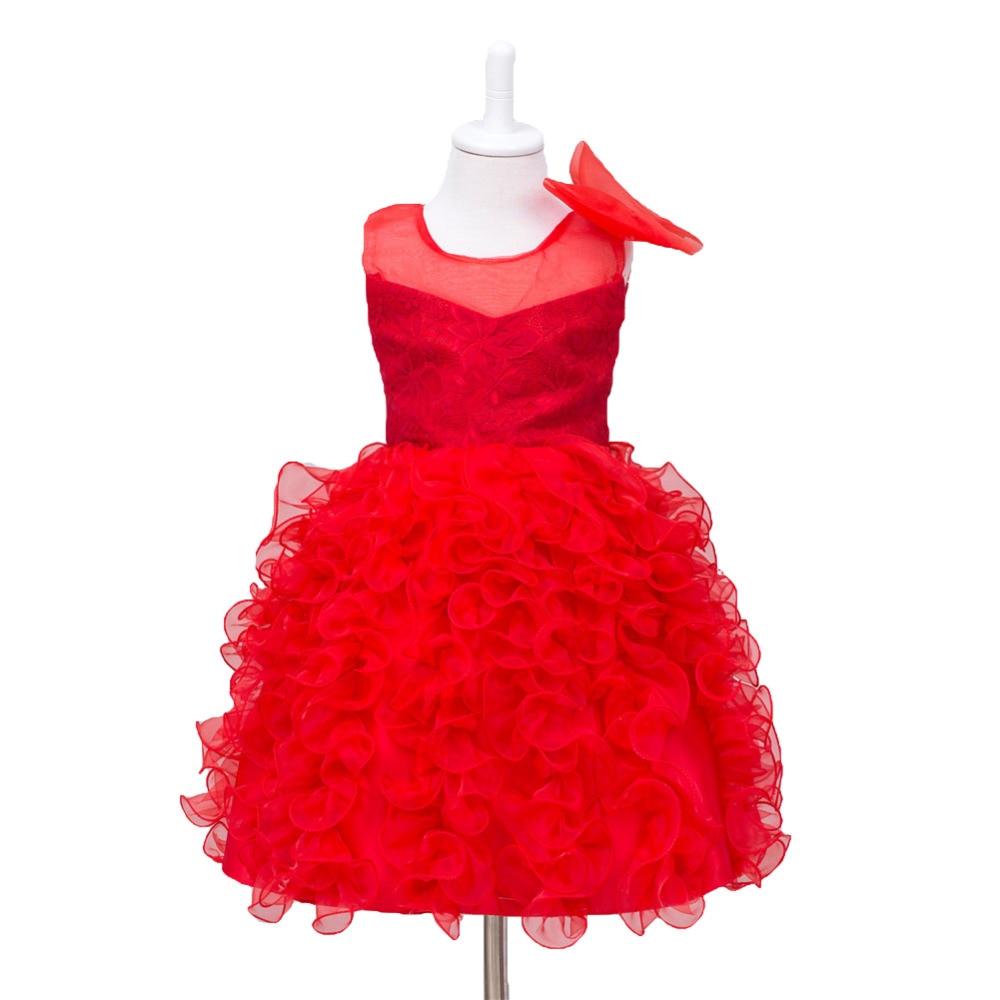 Baby Girl Gowns Kids Girls Wedding Dress Bowknot Party Dress tutu Dress Infant girl prom Dress 2017 Children Summer Sleeveless<br><br>Aliexpress