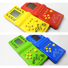 Classic Tetris electronic portable LCD game console children's Handheld Game children's puzzle toys video game console best gift