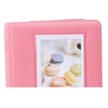 HGHO-Mini Photo Album 64 Slots for Fujifilm Instax Mini Film Mini 8 7s 25 50s 90 Camera-coral pink(China)