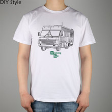RV Recreational Vehicle FROM BREAKING BAD T-shirt Top Lycra Cotton Men T shirt New DIY Style(China)