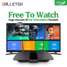 Dalletektv Smart IPTV stb Android tv Box 1300+ IPTV Arabic French Italia IPTV Subscription 1 year QHDTV Code TV Receivers(China)