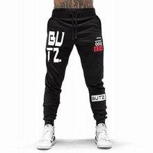 2018 otoño nueva impresión hombres pantalones otoño hombres pantalones  Fitness Sweatpants gimnasios pantalones entrenamiento Casual Pantalones 86671373b14