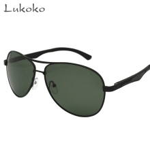 Lukoko Fishing Driving Glasses Men 2017 Gozluk Gunes Gozlugu Prad Shades Aviador Male Sunglasses Erkek Men Polarized HD Ochki(China)