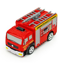 Funny Toy Coke Tank Remote Control Fire Truck With Light Romote Control Car Toys For Children(China)