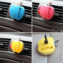 Car Auto Apple Shape Air Freshener Vent Water Perfumes Aromatic Scent Original Fragrance Interior Decoration