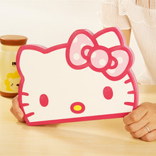 Cartoon Hello Kitty Case For iPad Air 2 ipad6 KT Cover Leather For Apple iPad 6 Ipad Air2 Case Tablet Protective Cover Fundas(China)
