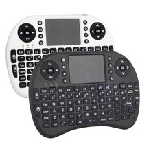 Multifunctional Remote Control Touchpad 2.4G Wireless Keyboard Handhold USB Mini Keyboard For TV BOX PS3 XBOX 360 PC  P25