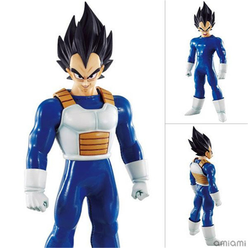 Anime DOD Dragon Ball Z Super Saiyan Vegeta Battle Suit State Megahouse PVC Action Figure Collectible Model Toys 18CM DBAF002<br>