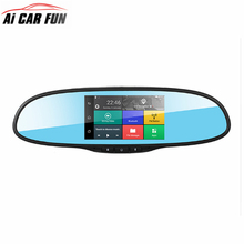 Touch Screen 3G Wireless Car DVRS with 1GB RAM 16GB ROM WiFi FM GPS Navigation Bluetooth Car Kits Car Mirror Android Cameras