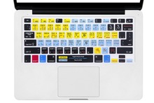 HRH Serato Scratch LIVE Shortcut Hotkey Silicone Keyboard Skin Cover For Old Macbook Pro Air Retina 13 15 17 Release Before 2016