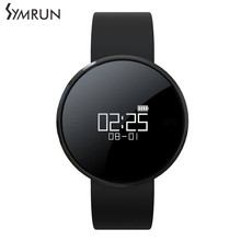 Symrun UW1 Smart Brecelet Heart Rate Monitor Call Message reminder band Medical grade With App Translucent mirror Wristband
