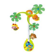 Musical Toys For Children Plastic Rattles Bed Wind Bell 0-12   Months Mobility New Year Animal Fisher Price Toys  60C0495