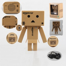 13cm Anime Danborad Loudspeaker Sound System PVC Action Figure Toys Record Function Collection Model Doll