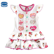 H7032 baby girl clothes girls dress girl summer party princess dress nova kids fashion children clothing dresses for girls 2016
