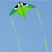 New High Quality Trangle Power Carbon Rod / Ripstop Nylon Kite With Handle And String Good Flying(China)