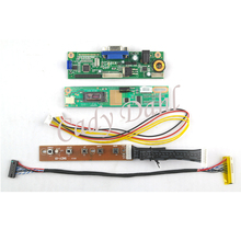 VGA LCD Controller Board Module + Inverter + Lvds Cable for B154EW01 LP154W01 LTN154X3 LTN154AT07 1280x800 1ch 6bit LCD Display(China)