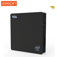 Zeepin Z83V 2G 32G  Win 10 OS Step TV Box Intel Atom X5-Z8350 Mini PC 2.4GHz / 5GHz WiFi BT 4.0 USB