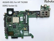 High Quality Laptop Motherboard For HP TX2000 DDR2 1.8V NF-G6150-N-A2 100% Fully Tested & Testing Video Support(China)