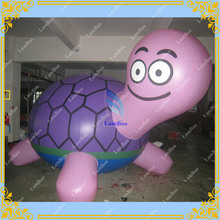 5m Long Inflatable Turtle Shaped Balloon for Advertising,Inflatable Tortoise Helium Balloon