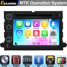 MTK3360 Car DVD Automotivo For Ford 500 Ford F150 2004 2005 2006 2007 2008 2009 2010 with Bluetooth Radio Stereo GPS Navigation(China)