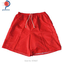 Sales Pure Red Or White Men's Volleyball Shorts In Summer Free Design Soccer Shorts For Teams With Sublimation Printing(China)