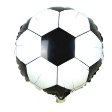 BINGTIAN new hot 18 inch football balloons children's toys wholesale wedding party decoration balloons for baby gift