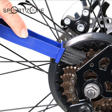 2 Colors Cycling Motorcycle Chain Cleaning Tool Set Gear Grunge Brush Cleaner Chain Wheel Flywheel Bicycle Crankset Clean Brush