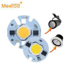 LED COB Chip light 9W 7W 5W 3W 220V 110V Input Smart IC Driver Fit For DIY Cold White / Warm White LED Spotlight Floodlight(China)