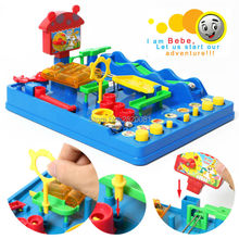 Montessori funny game educational toy for kid,adventure of Bebe water paradise intellect IQ balance toy kit,challenge game toy