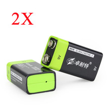 Best Deal 2PCS ZNTER S19 9V 400mAh USB Rechargeable 9V Lipo Battery For RC Camera Drone Accessories