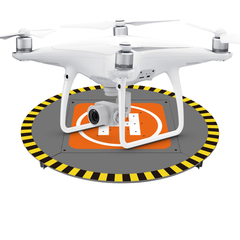 For DJI Spark Drone Landing Pad 15′ Electric LED Helipad for DJI Phantom 4 3 Mavic Pro Drone RC Quadcopter 38cm Parking Aporn