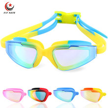Kids Professional Swimming Goggles For Children Boys Girls Waterproof Electroplate Anti-fog UV Protection Swim Glasses Eyewear