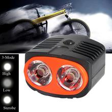 Bicycle Front Light Outdoor Sport 2 LED 2W Bicycle Bike Head Light Lamp Bulbs