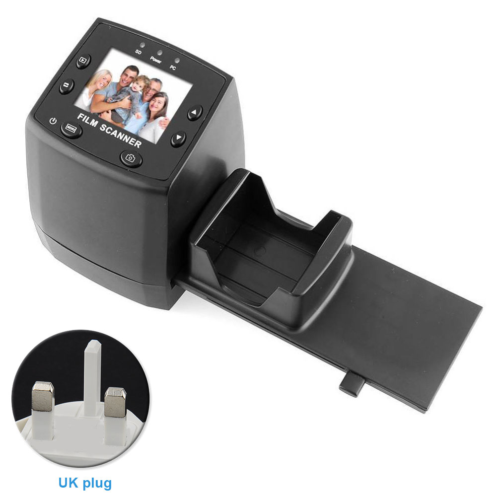 EC717 2.4inch Converter JPEG Editing Film Scanner LCD Display Slide Movie Mini Tool Quick High Resolution Negative Films Digital