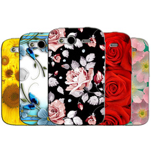 Shell for HTC Wildfire S G13 A510e Back Case Cover Printing Mandala Flower Datura Floral Cell Phone Cases