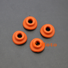 4PCS Silicone Tyre Air Valve Cap Seal Gasket Washer For Honda Yamaha KTM Motorcycle Dirt Bike Motocross FREE SHIPPING