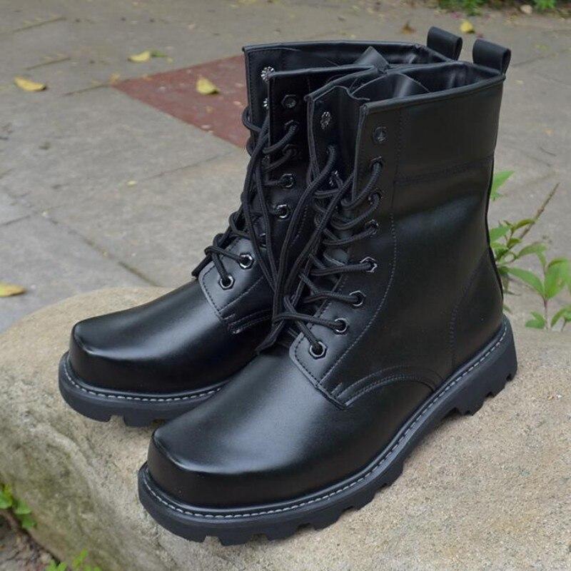 Popular Black Steel Toe Military Boots-Buy Cheap Black Steel Toe ...