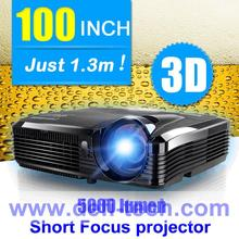 DfLabs 5000 Lumen short  throw  DLP  Projector  for DEFI interactive floor system make much larger projection size