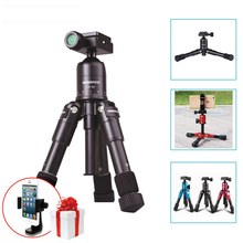 Ulanzi Cambofoto Portable Folding Macro Mini Tripod Professional Photography Tripod  with Ball Head For Canon Nikon DSLR