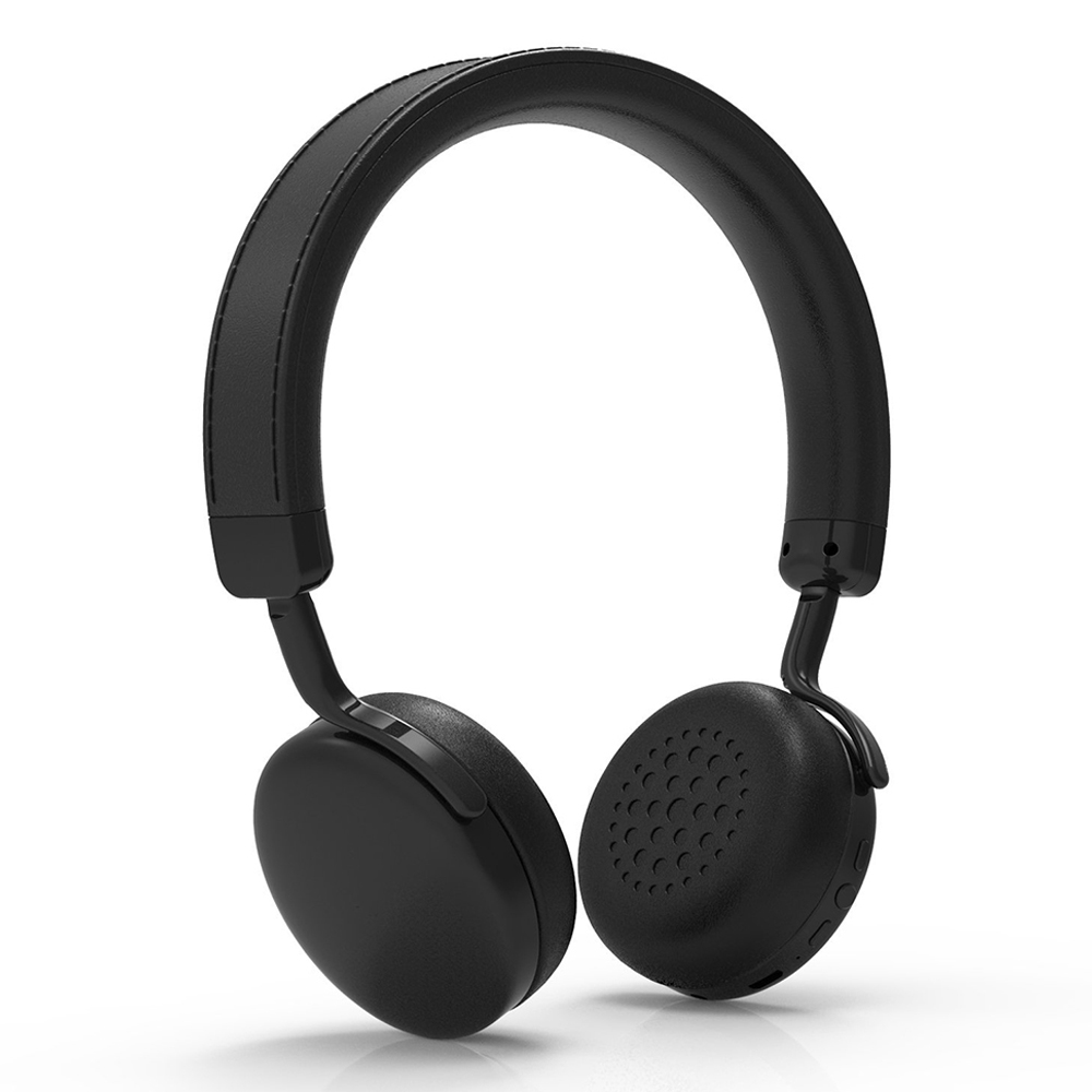 iDeaUSA V202 Wireless On-ear Stereo Bluetooth Headpones with apt-X Built-in microphone for iOS Apple Android Phone / Tablet / TV<br>