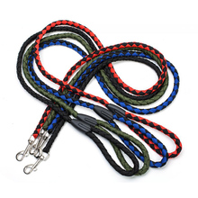 Nylon Pet Dog Leash Outdoor Training Walking P Chain Leash Rope for Small Medium Dogs Cats Collar Lead