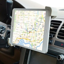 Cobao Fit 7 8 9 10 11 inch Car Air Vent Tablet PC Pad holder Stand Support for iPad 2 3 4 5 Mini Air Sam Tablet Nexus 7(China)