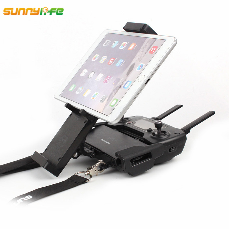 "Remote Control Foldable 360 degree rotate Monitor Bracket Holder double buckle lanyard 4.7 – 12.9 "" DJI Mavic Pro phantom 3/4"