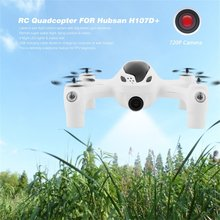 White 720P Camera 2.4G 4CH RC Quadcopter RTF for Hubsan FPV X4 Plus H107D+ Smallest FPV Quadcopter Hot Selling(China)