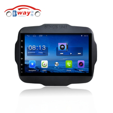 "Bway 9"" Quad core car radio gps navigation for Jeep Renegade android 6.0 car DVD video player with Wifi,BT,SWC,DVR"