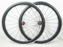 OEM 700C Carbon Bike Wheels Alloy Brake Surface 50mm Deep Bicycle Wheels 25mm Width Fiber Carbon Wheelset Painting accept