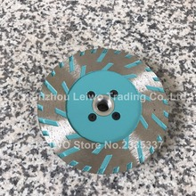 Diamond Single Grinding Blade 5 inch for Granite Turbo Saw Blades Cutting Disc with M14 Flange for Russia Market 8 Pcs/lot(China)