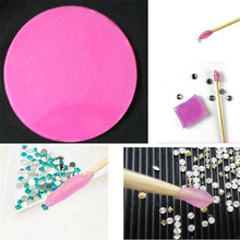 One Piece Diamond Paste DIY Sticker Diamond Dotting Tools Nail Art Tools Rhinestone Diamond Point Pen Drilling Mud(China)